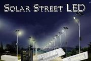 Solar Cell LED Street Lamp